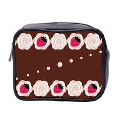 Cake Top Choco Mini Toiletries Bag (two Sides) by strawberrymilk