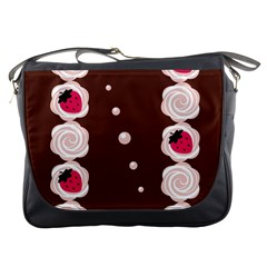 Cake Top Choco Messenger Bag by strawberrymilk