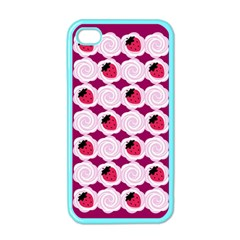 Cake Top Grape Apple Iphone 4 Case (color) by strawberrymilk