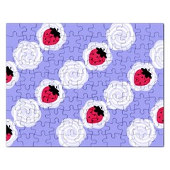 Cake Top Blueberry Jigsaw Puzzle (rectangular)