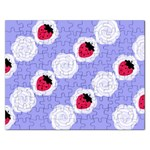 Cake Top Blueberry Jigsaw Puzzle (Rectangular) Front