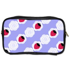 Cake Top Blueberry Toiletries Bag (one Side) by strawberrymilk