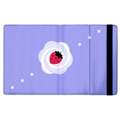 Cake Top Purple Apple Ipad 3/4 Flip Case