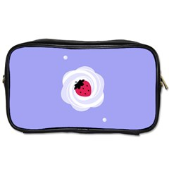 Cake Top Purple Toiletries Bag (one Side) by strawberrymilk