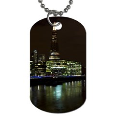 The Shard And Southbank London Twin Sided Dog Tag by Londonimages