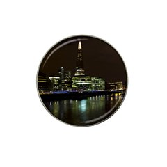 The Shard And Southbank London Golf Ball Marker (for Hat Clip) by Londonimages