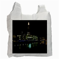 The Shard And Southbank London Twin Sided Reusable Shopping Bag by Londonimages