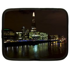 The Shard And Southbank London 15  Netbook Case