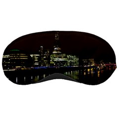 The Shard And Southbank London Sleep Eye Mask by Londonimages