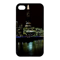 The Shard And Southbank London Apple Iphone 4/4s Premium Hardshell Case by Londonimages