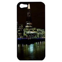 The Shard And Southbank London Apple Iphone 5 Hardshell Case by Londonimages