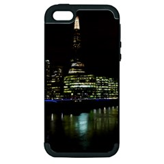 The Shard And Southbank London Apple Iphone 5 Hardshell Case (pc+silicone) by Londonimages