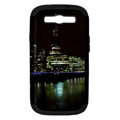The Shard And Southbank London Samsung Galaxy S Iii Hardshell Case (pc+silicone) by Londonimages