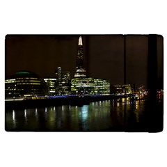 The Shard And Southbank London Apple Ipad 2 Flip Case by Londonimages