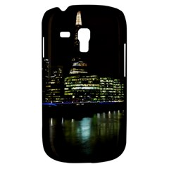 The Shard And Southbank London Samsung Galaxy S3 Mini I8190 Hardshell Case by Londonimages