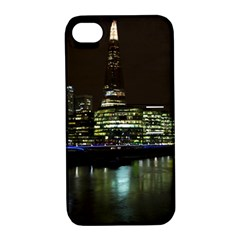 The Shard And Southbank London Apple Iphone 4/4s Hardshell Case With Stand by Londonimages