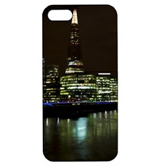 The Shard And Southbank London Apple Iphone 5 Hardshell Case With Stand by Londonimages