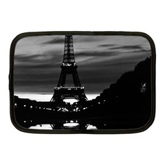 Vintage France Paris Eiffel Tower Reflection 1970 10  Netbook Case by Vintagephotos