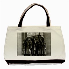 Vintage France Paris  Invalides Marshal Foch Tomb 1970 Twin Sided Black Tote Bag by Vintagephotos