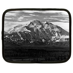Vintage Usa Alaska Beautiful Mt Mckinley 1970 12  Netbook Case by Vintagephotos
