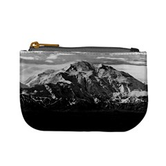 Vintage Usa Alaska Beautiful Mt Mckinley 1970 Coin Change Purse by Vintagephotos