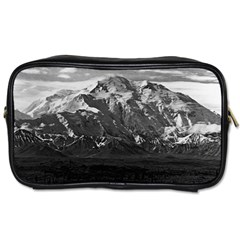 Vintage Usa Alaska Beautiful Mt Mckinley 1970 Twin-sided Personal Care Bag by Vintagephotos