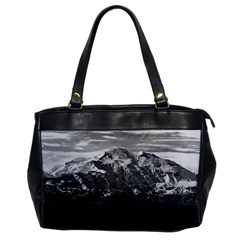 Vintage Usa Alaska Beautiful Mt Mckinley 1970 Single Sided Oversized Handbag by Vintagephotos
