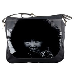 Vintage Usa Alaska Eskimo Child 1970 Messenger Bag