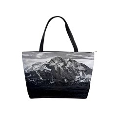 Vintage Usa Alaska Beautiful Mt Mckinley 1970 Large Shoulder Bag by Vintagephotos
