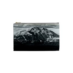 Vintage Usa Alaska Beautiful Mt Mckinley 1970 Small Makeup Purse by Vintagephotos