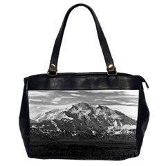Vintage Usa Alaska Beautiful Mt Mckinley 1970 Twin Sided Oversized Handbag by Vintagephotos