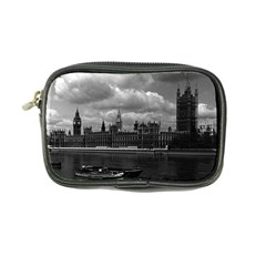 Vintage Uk England London The Houses Of Parliament 1970 Ultra Compact Camera Case by Vintagephotos