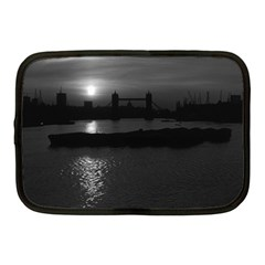 Vintage Uk England London Sun Sets Tower Bridge 1970 10  Netbook Case by Vintagephotos