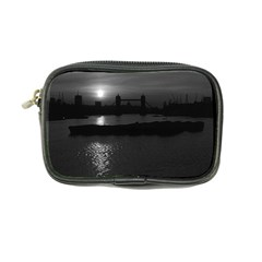 Vintage Uk England London Sun Sets Tower Bridge 1970 Ultra Compact Camera Case by Vintagephotos