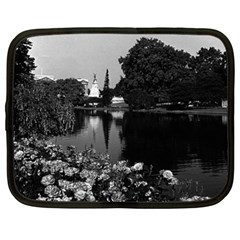 Vintage England London Buckingham Palace St James Park 15  Netbook Case by Vintagephotos