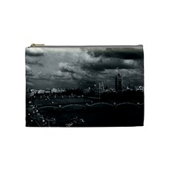 Vintage Uk England London The River Thames 1970 Medium Makeup Purse by Vintagephotos