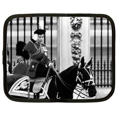 Vintage Uk England  Queen Elizabeth 2 Buckingham Palace 12  Netbook Case by Vintagephotos