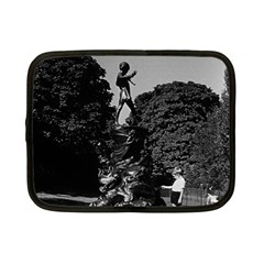 Vintage Uk  England London Peter Pan Statue Kensington 7  Netbook Case by Vintagephotos