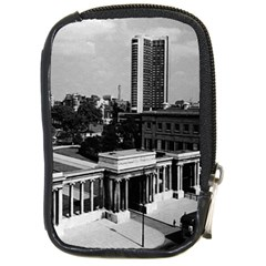 Vintage Uk England London Hyde Park Corner Hilton 1970 Digital Camera Case by Vintagephotos