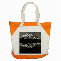 Vintage Usa Alaska Magnificent Mt Mckinley 1970 Snap Tote Bag by Vintagephotos