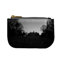 Vintage Usa Mount Vernon George Washington House 1970 Coin Change Purse by Vintagephotos