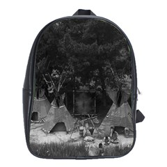 Vintage Usa California Disneyland Indian Camp 1970 School Bag (xl) by Vintagephotos