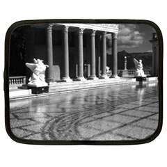 Vintage Usa California San Simeon Neptune Pool 1970 15  Netbook Case by Vintagephotos