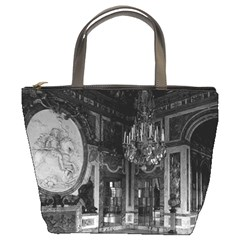 Vintage France Palace Of Versailles The Hall Of War Bucket Handbag by Vintagephotos