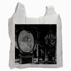 Vintage France Palace Of Versailles The Hall Of War Single Sided Reusable Shopping Bag by Vintagephotos