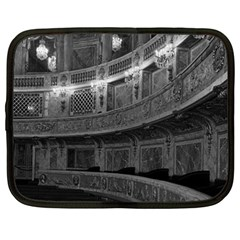 Vintage France Palace Versailles Opera House 15  Netbook Case by Vintagephotos