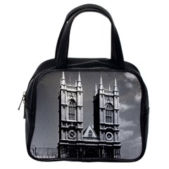 Vintage Uk England London Westminster Abbey 1970 Single Sided Satchel Handbag by Vintagephotos