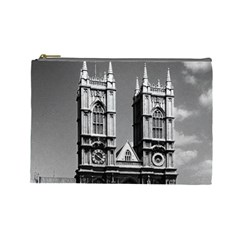 Vintage Uk England London Westminster Abbey 1970 Large Makeup Purse by Vintagephotos