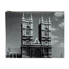 Vintage Uk England London Westminster Abbey 1970 Extra Large Makeup Purse by Vintagephotos