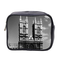 Vintage Uk England London Westminster Abbey 1970 Twin Sided Cosmetic Case by Vintagephotos